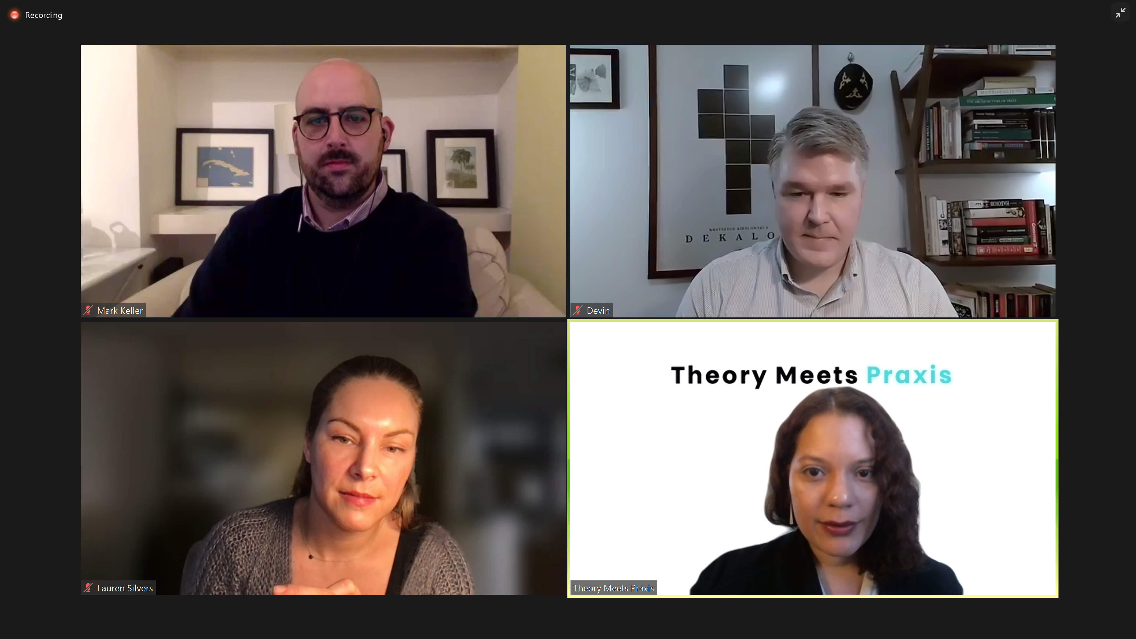Virtual Humanities Conference - Theory Meets Praxis 03.13.2021